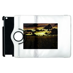 Dark Meadow Landscape  Apple Ipad 2 Flip 360 Case