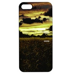 Dark Meadow Landscape  Apple Iphone 5 Hardshell Case With Stand