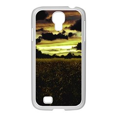 Dark Meadow Landscape  Samsung Galaxy S4 I9500/ I9505 Case (white) by dflcprints