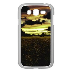 Dark Meadow Landscape  Samsung Galaxy Grand Duos I9082 Case (white) by dflcprints