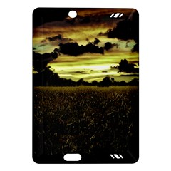 Dark Meadow Landscape  Kindle Fire Hd 7  (2nd Gen) Hardshell Case by dflcprints