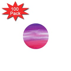 Abstract In Pink & Purple 1  Mini Button (100 Pack) by StuffOrSomething