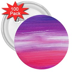 Abstract In Pink & Purple 3  Button (100 pack) by StuffOrSomething