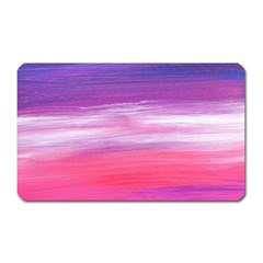 Abstract In Pink & Purple Magnet (rectangular) by StuffOrSomething