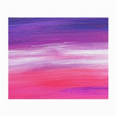 Abstract In Pink & Purple Glasses Cloth (small, Two Sided) by StuffOrSomething