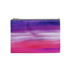 Abstract In Pink & Purple Cosmetic Bag (medium) by StuffOrSomething