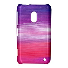 Abstract In Pink & Purple Nokia Lumia 620 Hardshell Case by StuffOrSomething