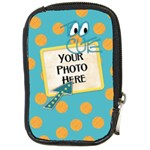 Camera Case-Fanciful Fun 3 - Compact Camera Leather Case