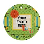 Ornament-Fanciful Fun 2 - Ornament (Round)