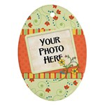 Ornament-Fanciful Fun-Oval 2 - Ornament (Oval)