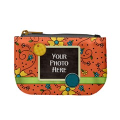 Coin Bag Fanciful Fun 2 By Lisa Minor   Mini Coin Purse   6res65hzyf4k   Www Artscow Com Front