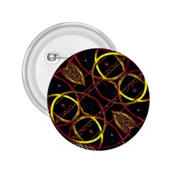 Luxury Futuristic Ornament 2.25  Button by dflcprints