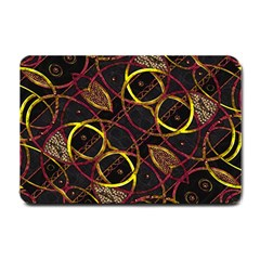 Luxury Futuristic Ornament Small Door Mat