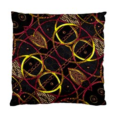 Luxury Futuristic Ornament Cushion Case (single Sided)  by dflcprints