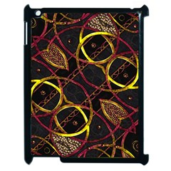 Luxury Futuristic Ornament Apple Ipad 2 Case (black)