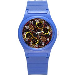 Luxury Futuristic Ornament Plastic Sport Watch (small)