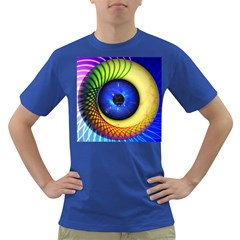 Eerie Psychedelic Eye Men s T Shirt (colored) by StuffOrSomething