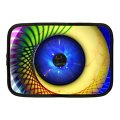 Eerie Psychedelic Eye Netbook Sleeve (medium)