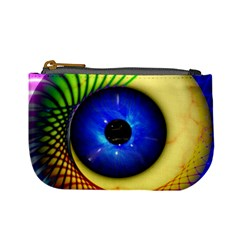 Eerie Psychedelic Eye Coin Change Purse by StuffOrSomething
