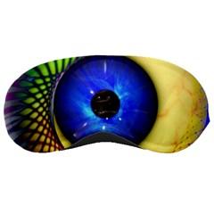 Eerie Psychedelic Eye Sleeping Mask