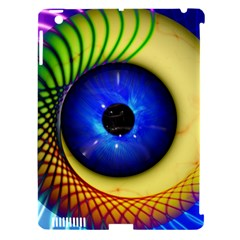 Eerie Psychedelic Eye Apple Ipad 3/4 Hardshell Case (compatible With Smart Cover) by StuffOrSomething
