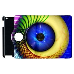 Eerie Psychedelic Eye Apple Ipad 3/4 Flip 360 Case by StuffOrSomething
