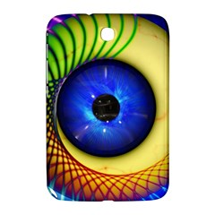 Eerie Psychedelic Eye Samsung Galaxy Note 8 0 N5100 Hardshell Case  by StuffOrSomething