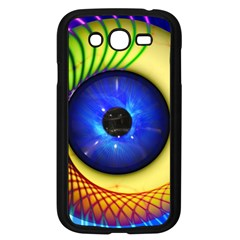 Eerie Psychedelic Eye Samsung Galaxy Grand Duos I9082 Case (black) by StuffOrSomething