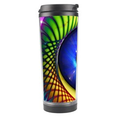 Eerie Psychedelic Eye Travel Tumbler by StuffOrSomething