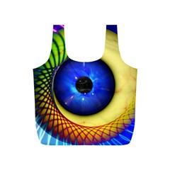 Eerie Psychedelic Eye Reusable Bag (s)