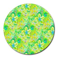 Summer Fun 8  Mouse Pad (round) by rokinronda