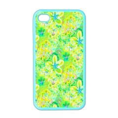 Summer Fun Apple Iphone 4 Case (color) by rokinronda