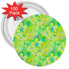 Summer Fun 3  Button (100 Pack) by rokinronda