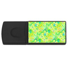Summer Fun 4gb Usb Flash Drive (rectangle) by rokinronda