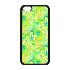 Summer Fun Apple Iphone 5c Seamless Case (black) by rokinronda