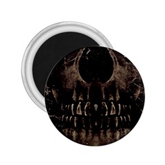 Skull Poster Background 2 25  Button Magnet by dflcprints