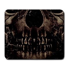 Skull Poster Background Large Mouse Pad (rectangle) by dflcprints