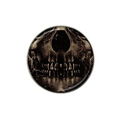 Skull Poster Background Golf Ball Marker 10 Pack (for Hat Clip) by dflcprints