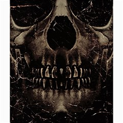 Skull Poster Background Canvas 16  X 16  (unframed) by dflcprints