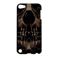 Skull Poster Background Apple Ipod Touch 5 Hardshell Case by dflcprints