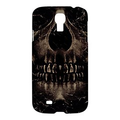 Skull Poster Background Samsung Galaxy S4 I9500/i9505 Hardshell Case by dflcprints