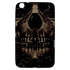 Skull Poster Background Samsung Galaxy Tab 3 (8 ) T3100 Hardshell Case  by dflcprints