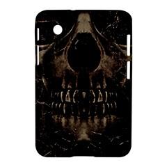 Skull Poster Background Samsung Galaxy Tab 2 (7 ) P3100 Hardshell Case