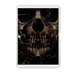 Skull Poster Background Samsung Galaxy Tab 2 (10 1 ) P5100 Hardshell Case  by dflcprints
