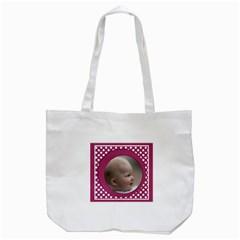 My Pink Tote Bag By Deborah   Tote Bag (white)   Jyme83xoyw1x   Www Artscow Com Back