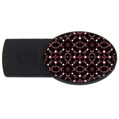 Futuristic Dark Pattern 2GB USB Flash Drive (Oval) by dflcprints