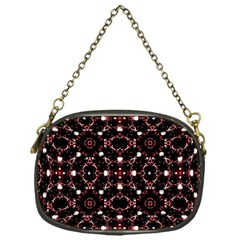 Futuristic Dark Pattern Chain Purse (one Side)