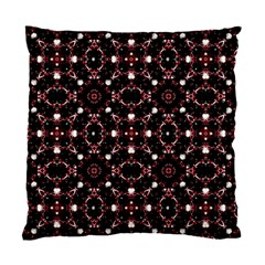 Futuristic Dark Pattern Cushion Case (two Sided)  by dflcprints