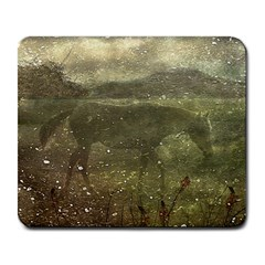 Flora And Fauna Dreamy Collage Large Mouse Pad (rectangle) by dflcprints