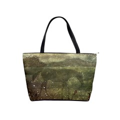 Flora And Fauna Dreamy Collage Large Shoulder Bag by dflcprints
